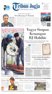 Cover Tribun Jogja 13 September 2019