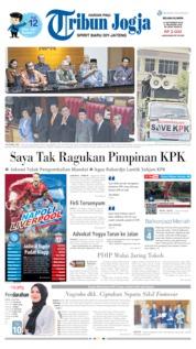 Tribun Jogja Cover 17 September 2019