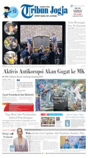 Tribun Jogja Cover 18 September 2019