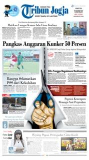 Tribun Jogja Cover 20 September 2019