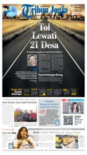Cover Tribun Jogja 21 September 2019