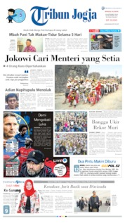Tribun Jogja Cover 22 September 2019