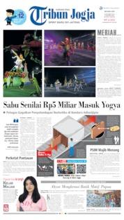 Cover Tribun Jogja 08 Oktober 2019