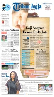 Cover Tribun Jogja 09 Oktober 2019