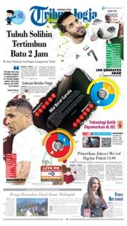 Cover Tribun Jogja 10 Oktober 2019