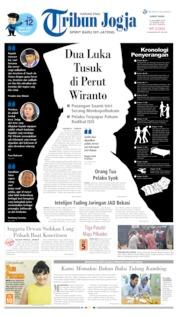 Cover Tribun Jogja 11 Oktober 2019