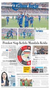 Cover Tribun Jogja 14 Oktober 2019
