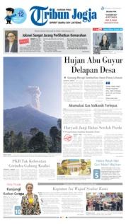 Cover Tribun Jogja 15 Oktober 2019