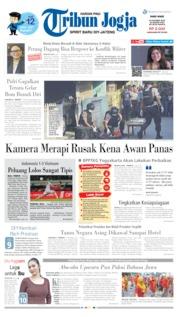 Cover Tribun Jogja 16 Oktober 2019