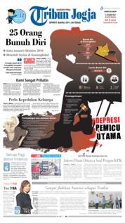 Cover Tribun Jogja 17 Oktober 2019