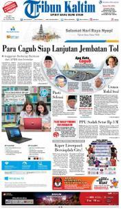 Cover Tribun Kaltim 18 Maret 2018