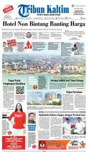 Cover Tribun Kaltim 20 Maret 2018