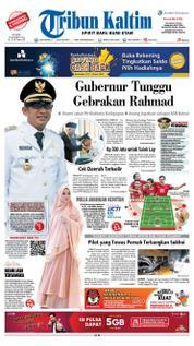 Cover Tribun Kaltim 21 Maret 2018