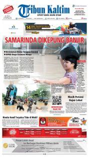 Cover Tribun Kaltim 23 Maret 2018
