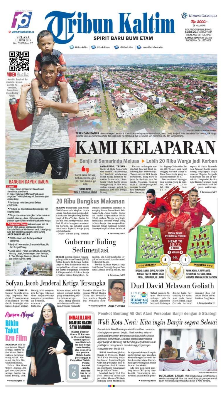 Tribun Kaltim Digital Newspaper 11 June 2019