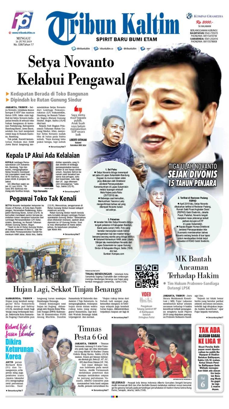 Koran Digital Tribun Kaltim 16 Juni 2019