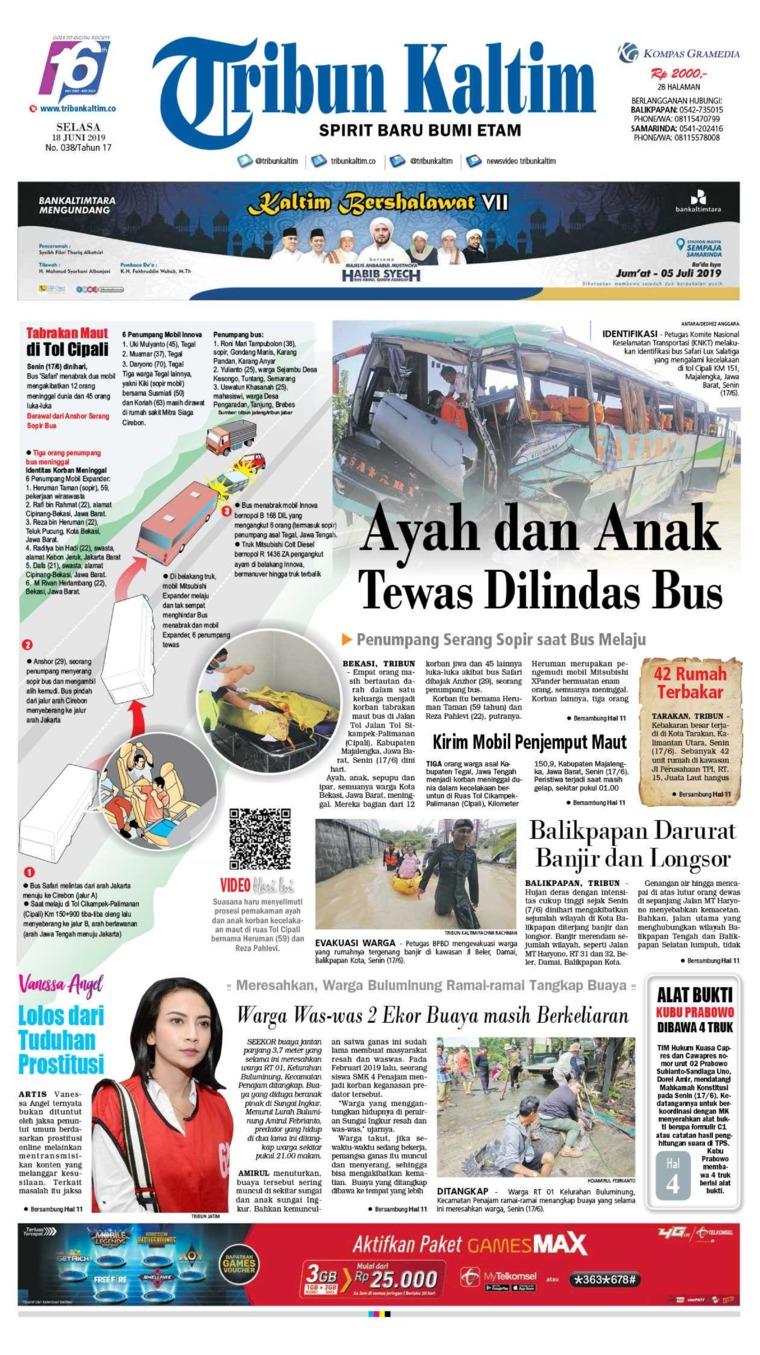 Koran Digital Tribun Kaltim 18 Juni 2019
