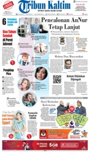 Cover Tribun Kaltim 25 Februari 2018