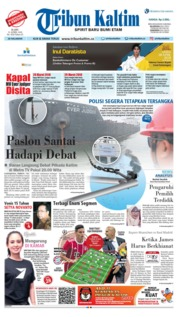 Cover Tribun Kaltim 25 April 2018