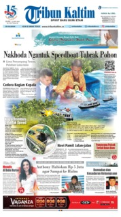 Cover Tribun Kaltim 23 Mei 2018