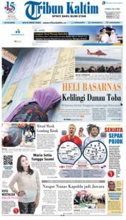 Cover Tribun Kaltim 24 Juni 2018