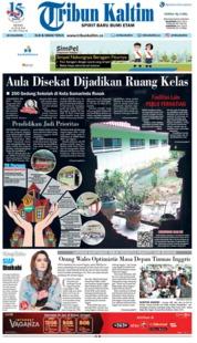 Cover Tribun Kaltim 16 Juli 2018