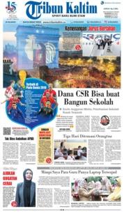 Cover Tribun Kaltim 17 Juli 2018