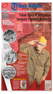 Cover Tribun Kaltim 14 Agustus 2018