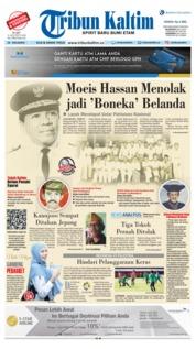 Cover Tribun Kaltim 15 Agustus 2018
