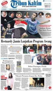 Cover Tribun Kaltim 23 September 2018