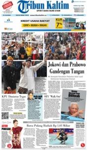 Cover Tribun Kaltim 24 September 2018
