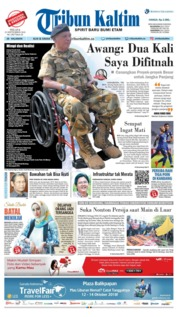Cover Tribun Kaltim 25 September 2018