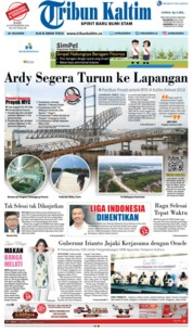 Cover Tribun Kaltim 26 September 2018