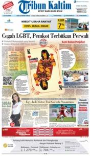 Cover Tribun Kaltim 18 Oktober 2018