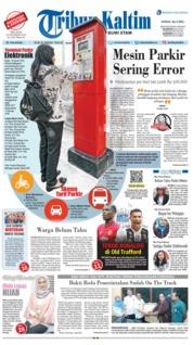 Cover Tribun Kaltim 23 Oktober 2018
