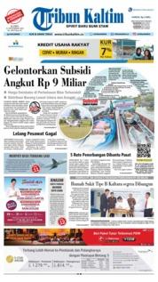 Cover Tribun Kaltim 15 November 2018