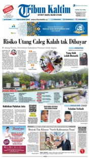 Cover Tribun Kaltim 20 November 2018