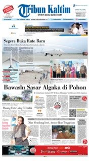 Cover Tribun Kaltim 21 November 2018