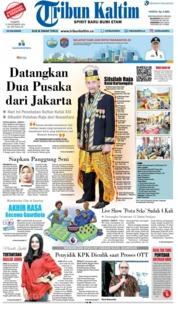 Cover Tribun Kaltim 15 Desember 2018