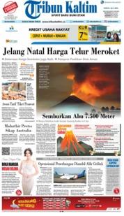 Cover Tribun Kaltim 17 Desember 2018