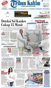 Cover Tribun Kaltim 16 Januari 2019