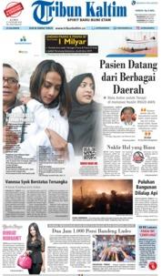 Cover Tribun Kaltim 17 Januari 2019