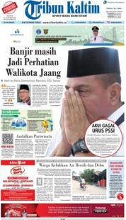 Cover Tribun Kaltim 21 Januari 2019