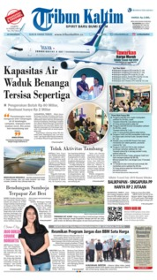 Tribun Kaltim Cover 16 February 2019