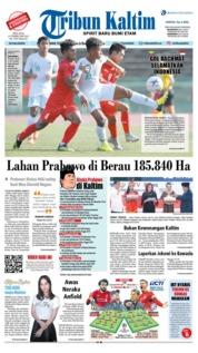 Cover Tribun Kaltim 19 Februari 2019