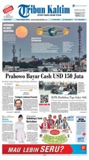 Cover Tribun Kaltim 20 Februari 2019