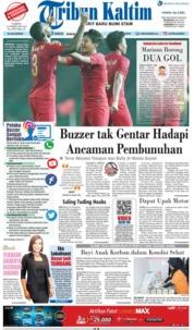 Cover Tribun Kaltim 23 Februari 2019