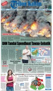 Cover Tribun Kaltim 24 Februari 2019