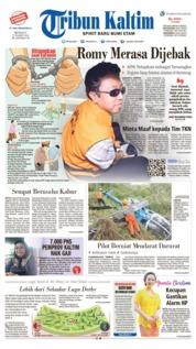 Tribun Kaltim Cover 17 March 2019