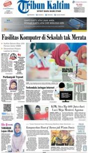 Tribun Kaltim Cover 20 March 2019
